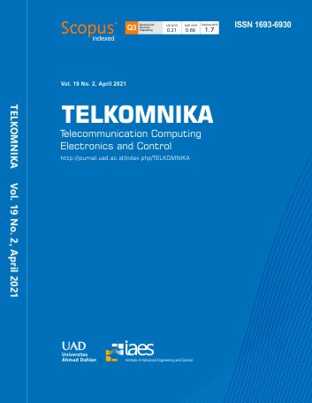 TELKOMNIKA (Telecommunication, Computing, Electronics and Control)