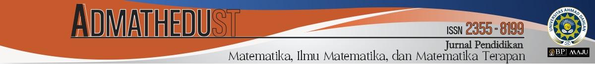 Jurnal Ilmiah Mahasiswa Pendidikan Matematika