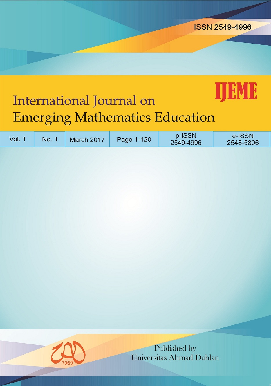 International Journal On Emerging Mathematics Education